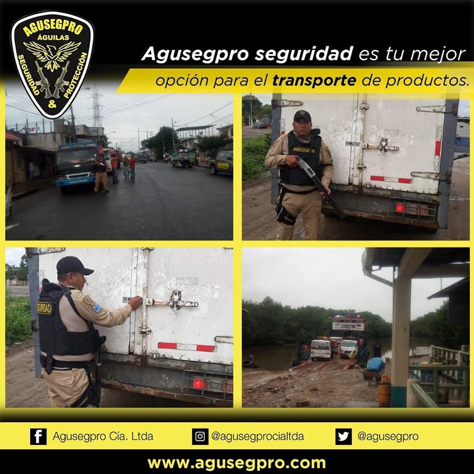 custodia en carreteras a camiones