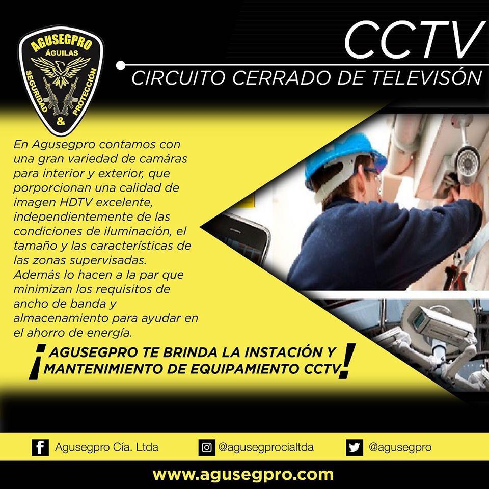 Circuito cerrado de televisión o CCTV